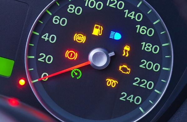 car dashboard warning light