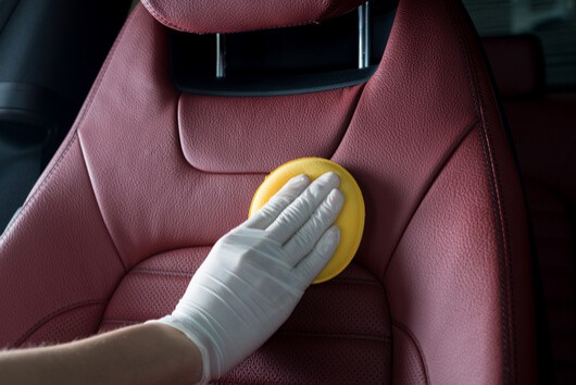 car leather conditioning
