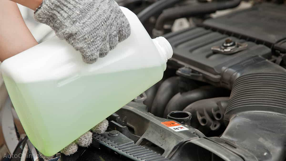 green vs orange coolant