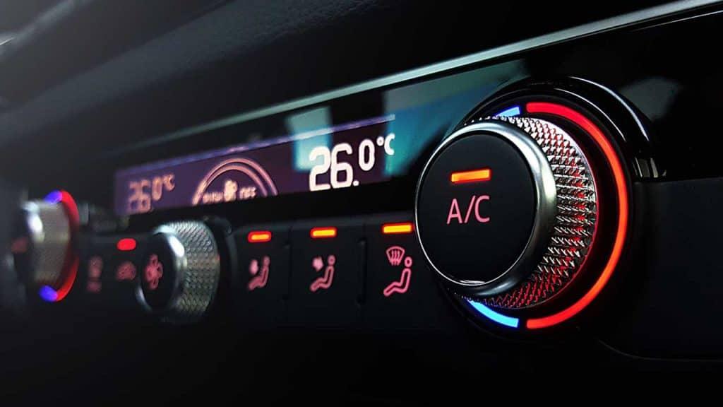 Car AC Hot Air