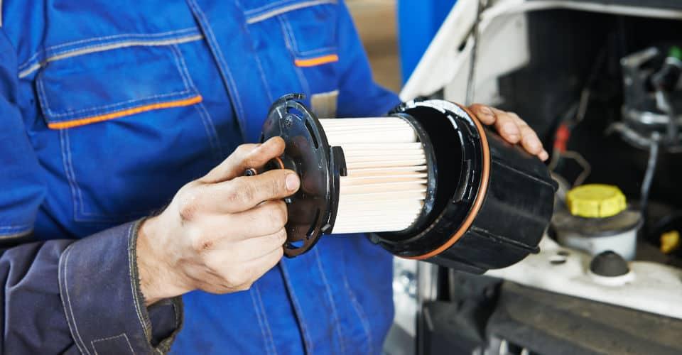 car filter replacing