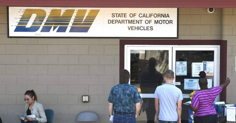 DMV Department of Motor Vehicles California