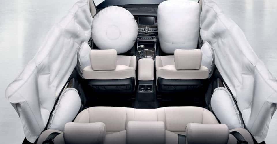 KIA airbags system