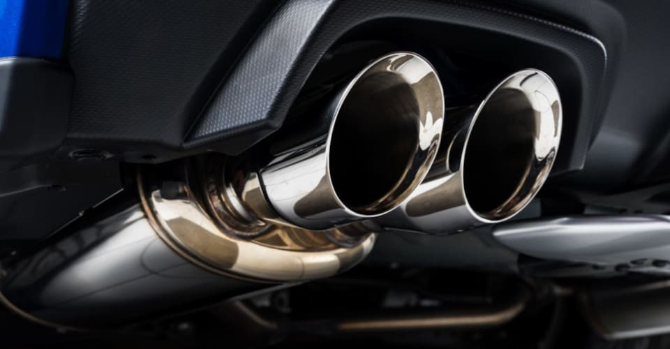 car muffler and exhaust pipes