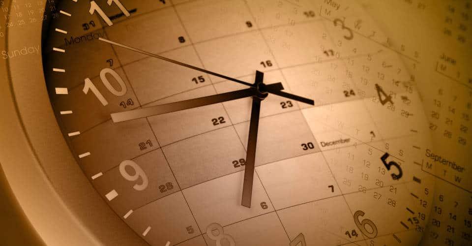 clock calendar time management