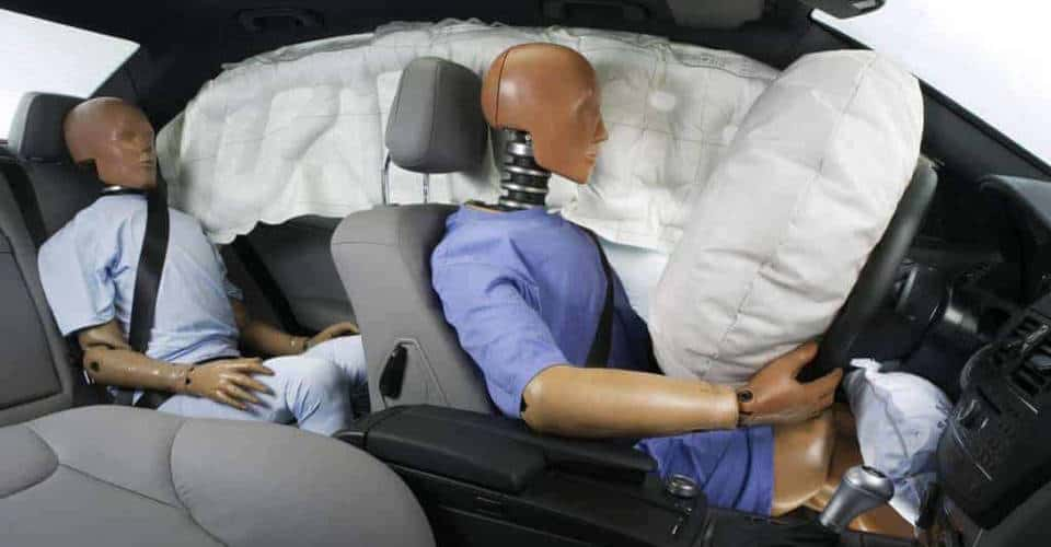 side curtain and front car airbags
