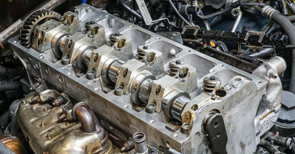 car cylinder head