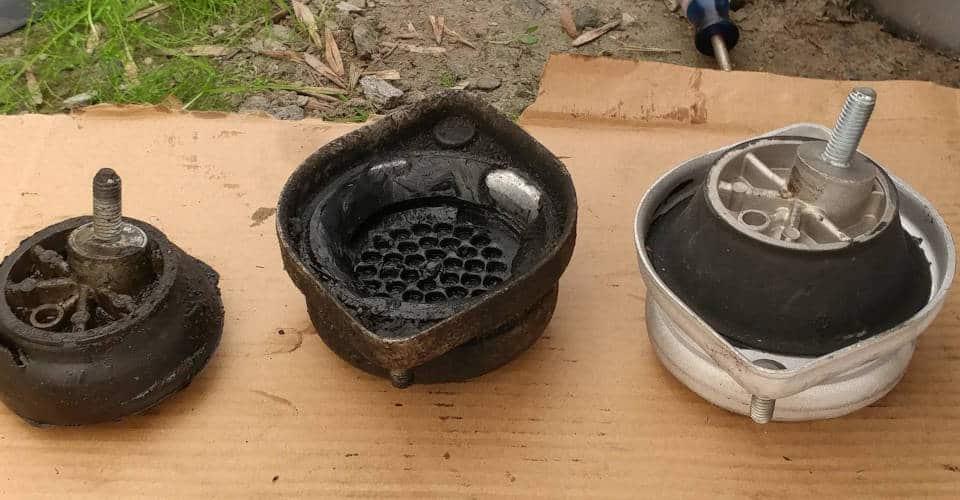 damaged engine mounts
