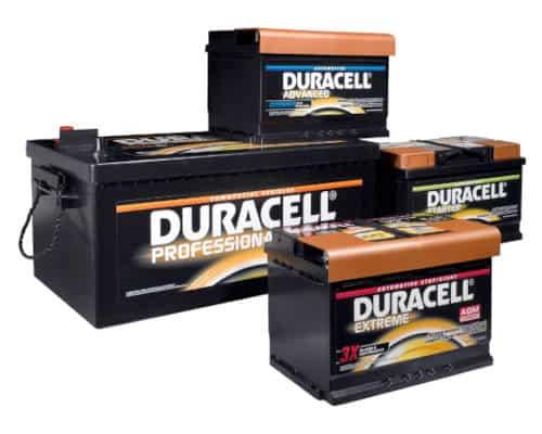 duracell car battery