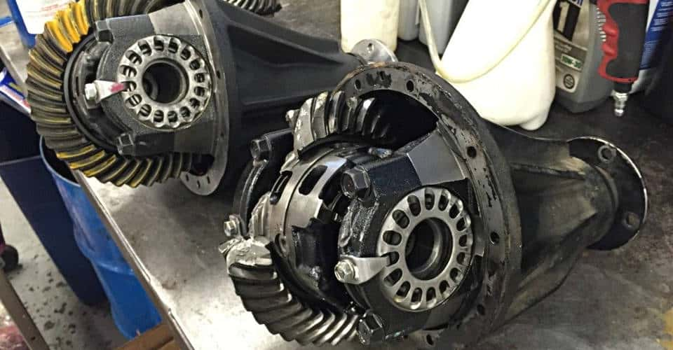 faulty rear differentials