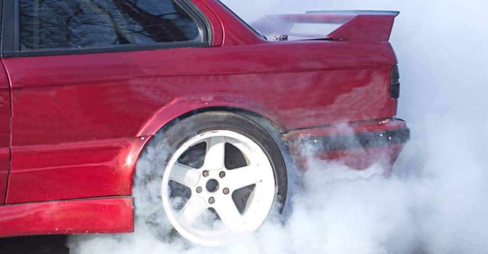 white smoke coming out of exhaust pipe