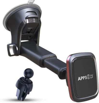 APPS2Car Magnetic Windshield Phone Mount