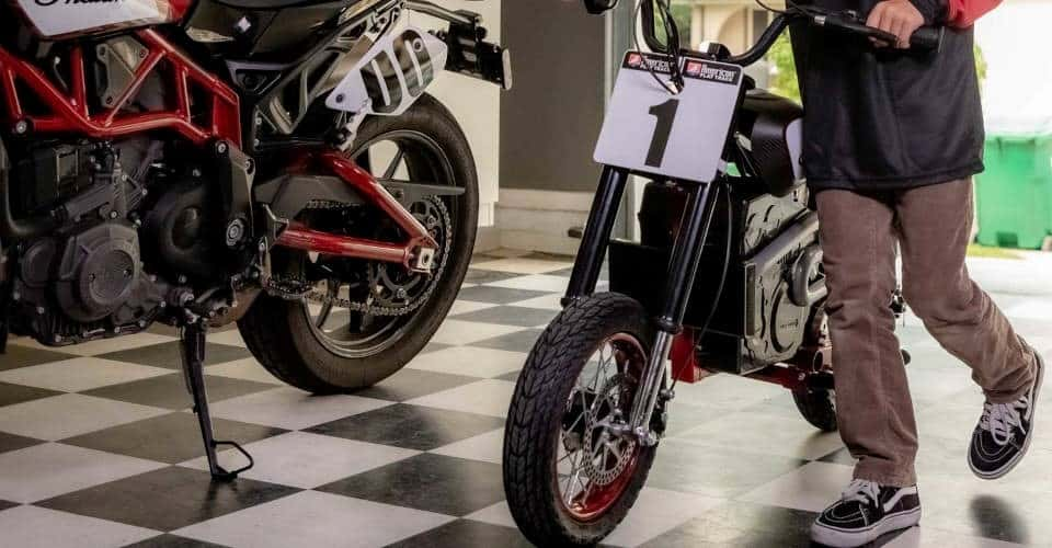 Indian eFTR Jr electric bike