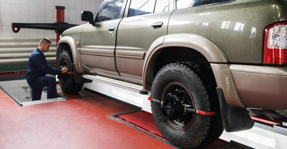 SUV wheel alignment