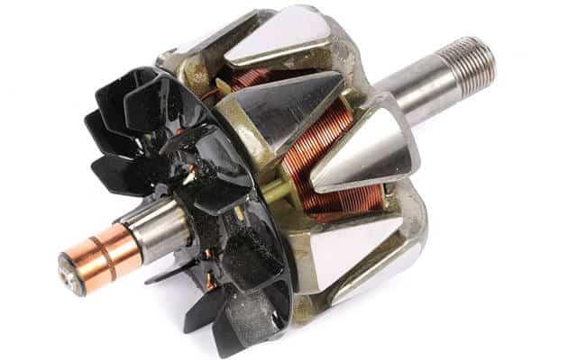 car alternator rotor