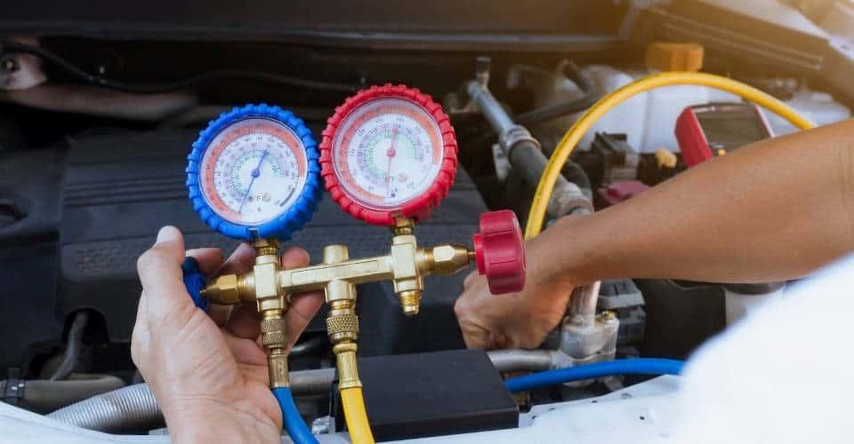 auto AC leak repair