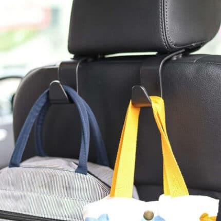 Amooca Car Seat Headrest Hooks