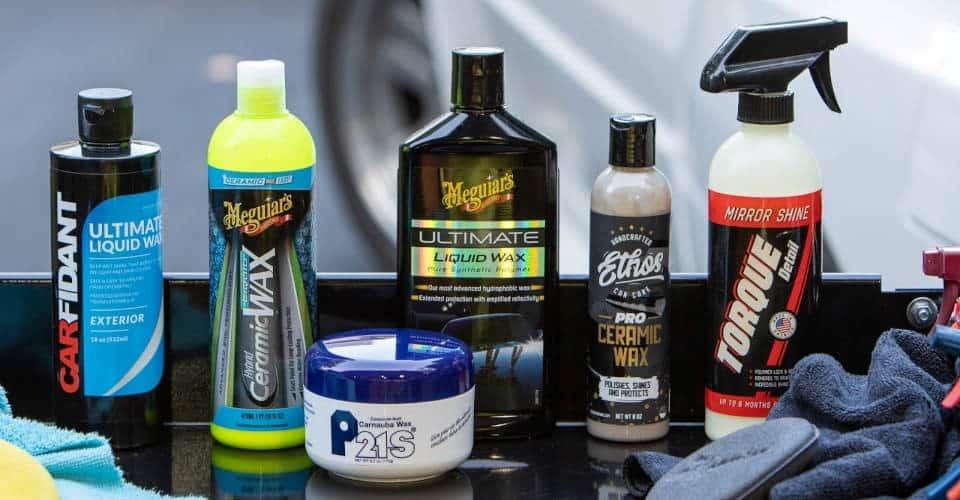 car wax brands